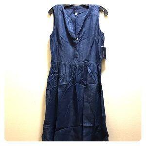 🆕msrp $129 Tommy Hilfiger sleeveless denim dress